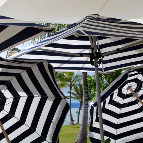 """barbados"" large square umbrella"