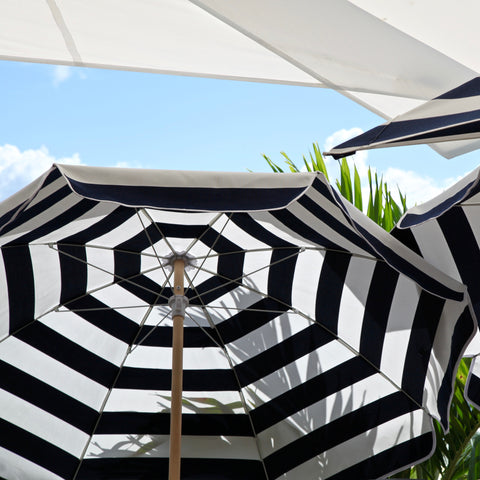"""barbados"" beach umbrella"