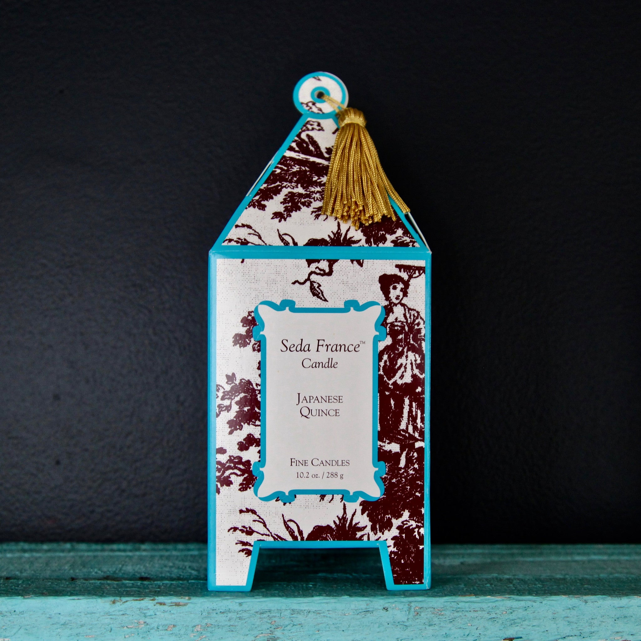 japanese quince pagoda candle