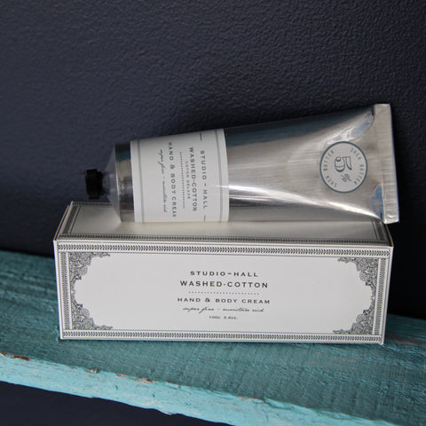 washed cotton hand cream - reduced