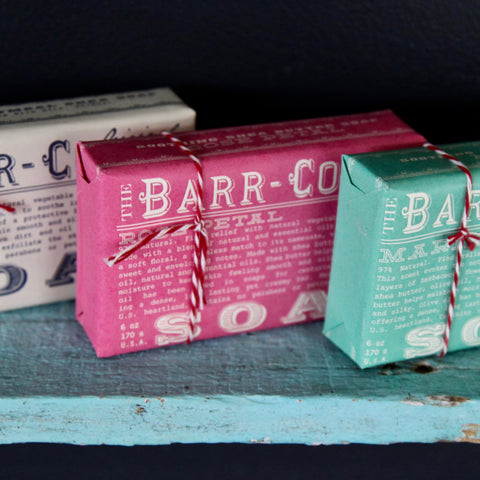barr-co. rose petal soap
