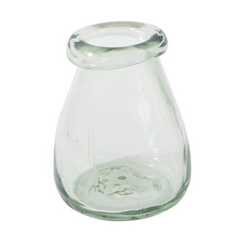 green bubble vase