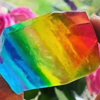 Manchester Pride Crystal Luxury Artisan Soap
