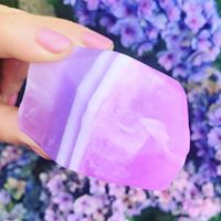 Amethyst Crystal Inspired Luxury Artisan Soap
