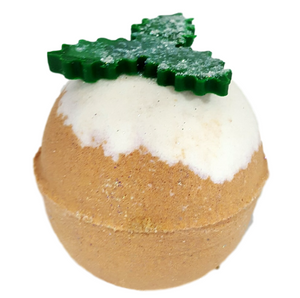 Christmas Pudding Bathbomb