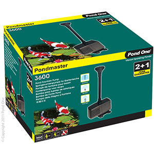 Pond One Pondmaster MK II 3600PH 3500l/hr 2.9m