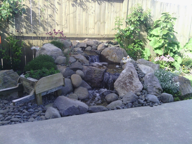 Small DIY Pondless Waterfall Kit