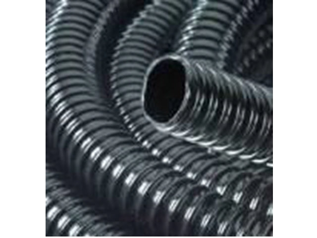 High grade rubber ribbed hose 25 mm x 7.5 metres