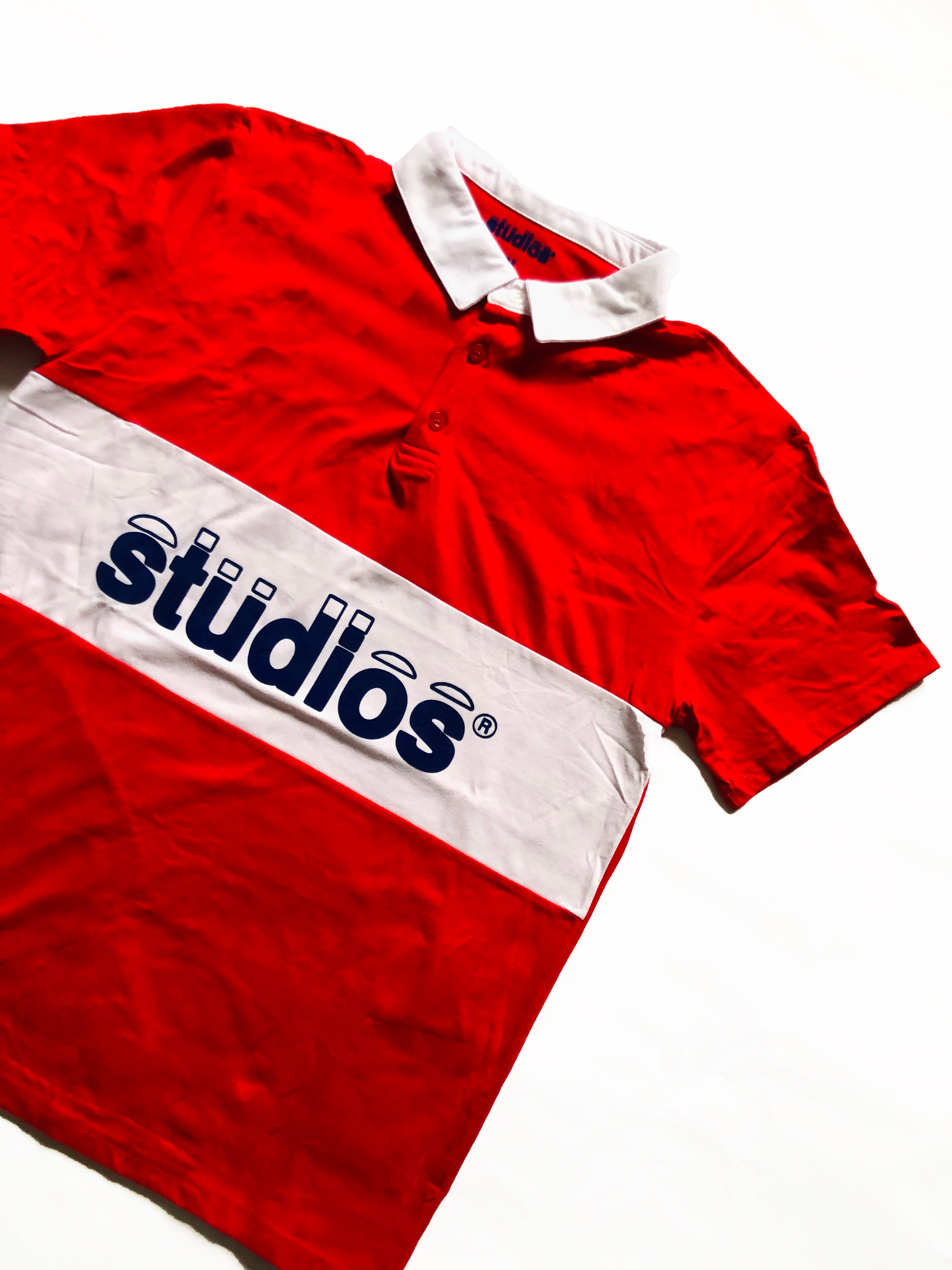 "Classic ""Studios"" Polo Rugby Red"
