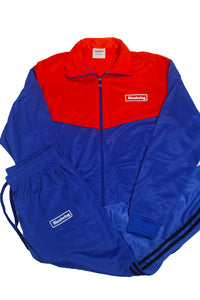 Men's Classic Retro Tracksuits 1.0 Red/Blue