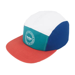 """ES"" Color block 5 Panel Cap"