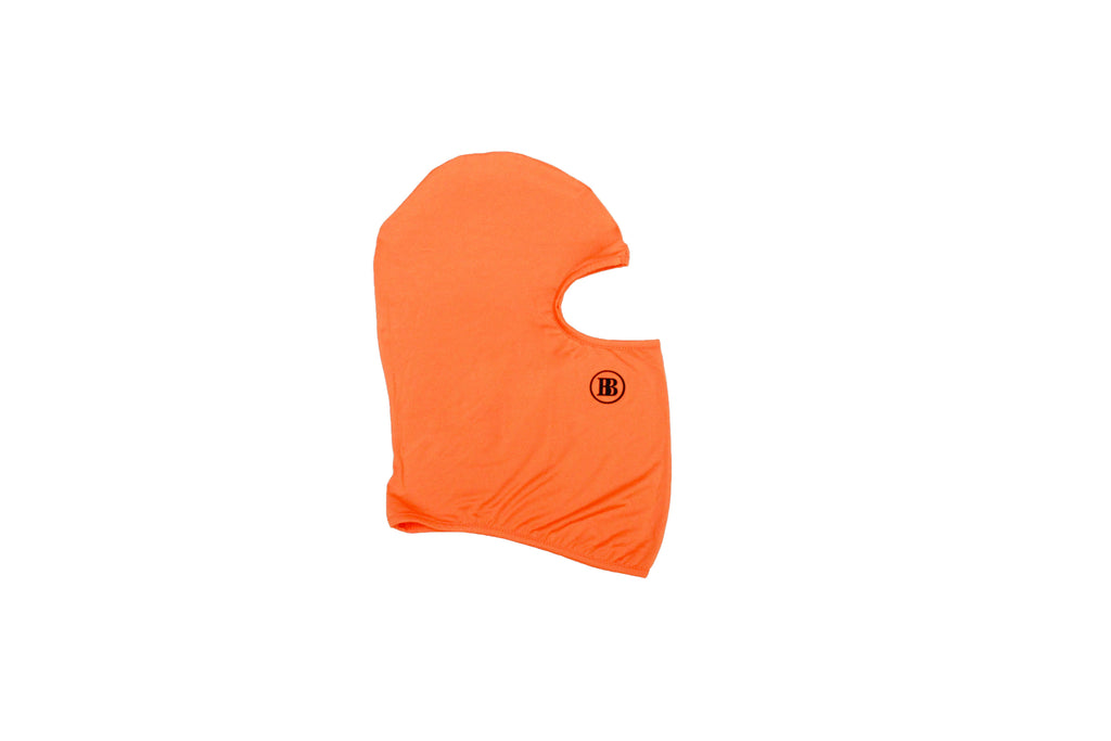 """BB"" Balaclava Mask Orange"
