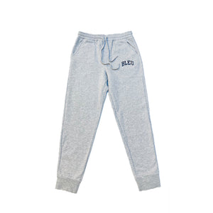 "Heather Grey ""BLEU"" Icon Jogger Pants"