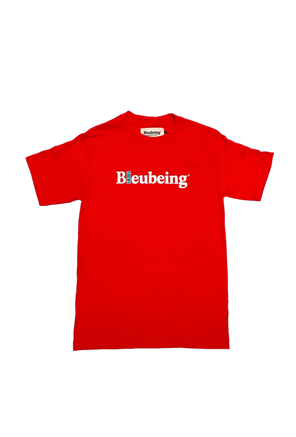 Bleubeing Tennis Logo Tee Red