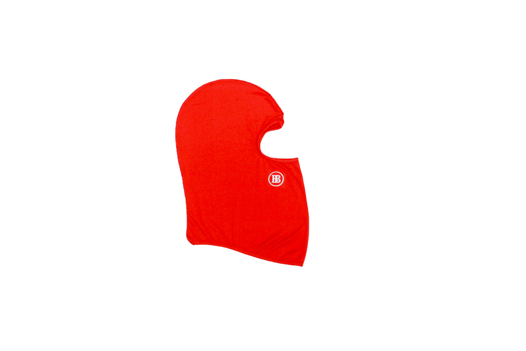 """BB"" Balaclava Mask Red"