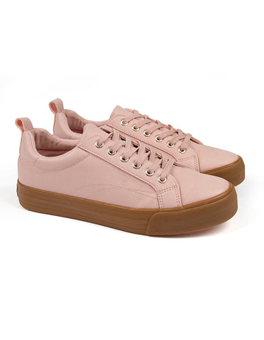 Lace Sneaker _ 111377 _ Pink -  Shoes - Refinery Clothing Store | South Africa