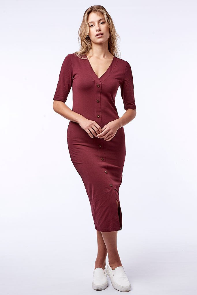 Bodycon _ 111481 _ Plum -  Womens Tops - Refinery Clothing Store | South Africa
