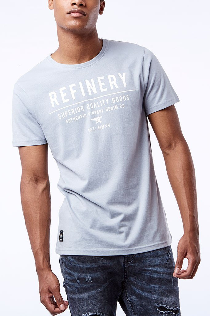Branded Tees _ 111757 _ Light Blue -  Mens Tops - Refinery Clothing Store | South Africa