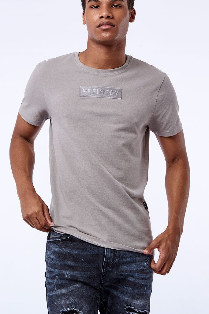 Branded Tees _ 111837 _ Cement -  Mens Tops - Refinery Clothing Store | South Africa