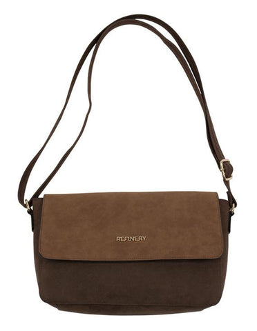 Flapover Bag _ 112218 _ Tan -  Accessories - Refinery Clothing Store | South Africa