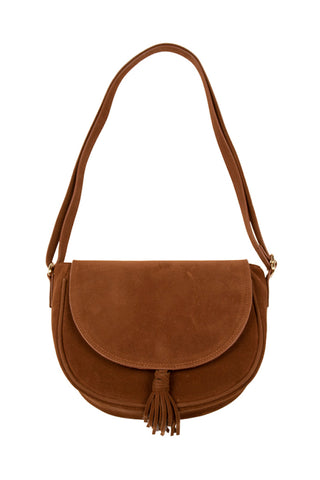 Flapover Bag _ 112220 _ Tan