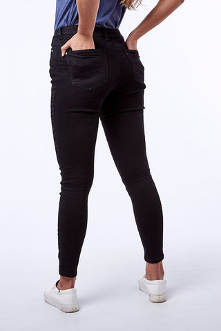 Rf01 Skinny _ 112267 _ Black -  Womens Bottoms - Refinery Clothing Store | South Africa