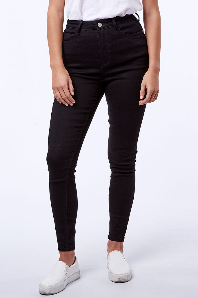 Rf09 Skinny _ 112285 _ Black -  Womens Bottoms - Refinery Clothing Store | South Africa