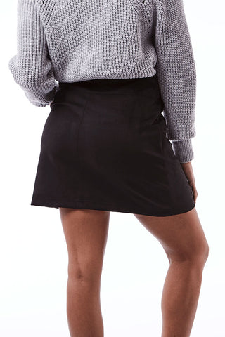 Panel Mini _ 112424 _ Black -  Womens Bottoms - Refinery Clothing Store | South Africa