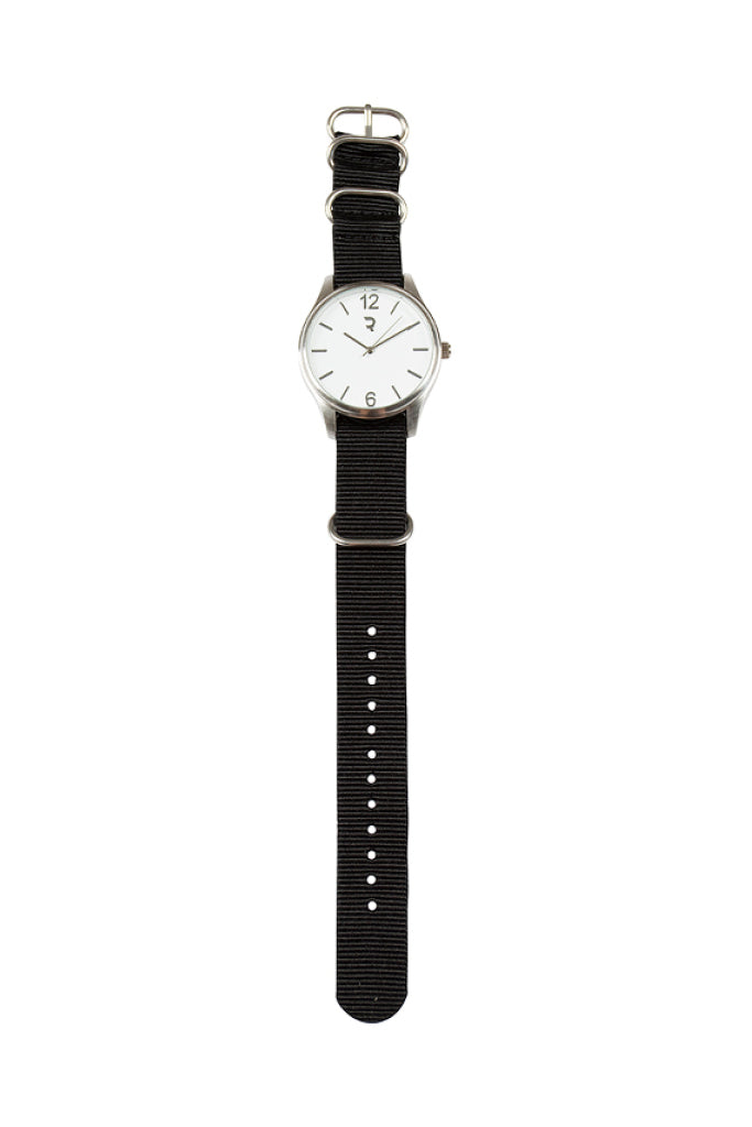 Nylon Watch _ 112521 _ Black