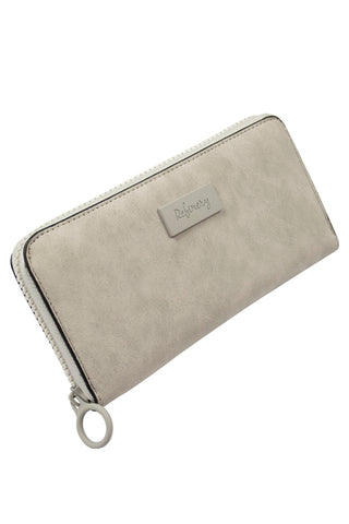 Zip Wallet _ 112577 _ Grey