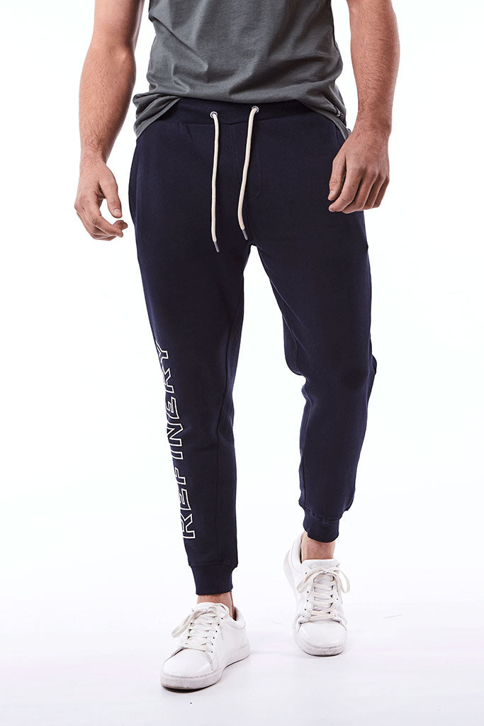 Track Pants _ 112656 _ Ink -  Mens Bottoms - Refinery Clothing Store | South Africa