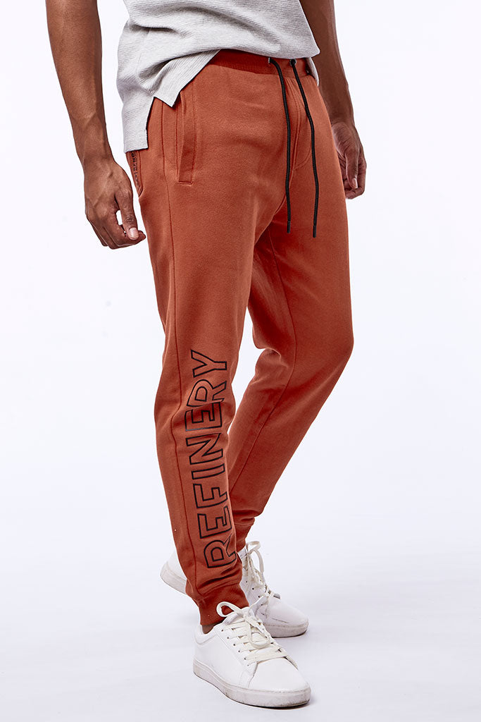Track Pants _ 112656 _ Rust -  Mens Bottoms - Refinery Clothing Store | South Africa