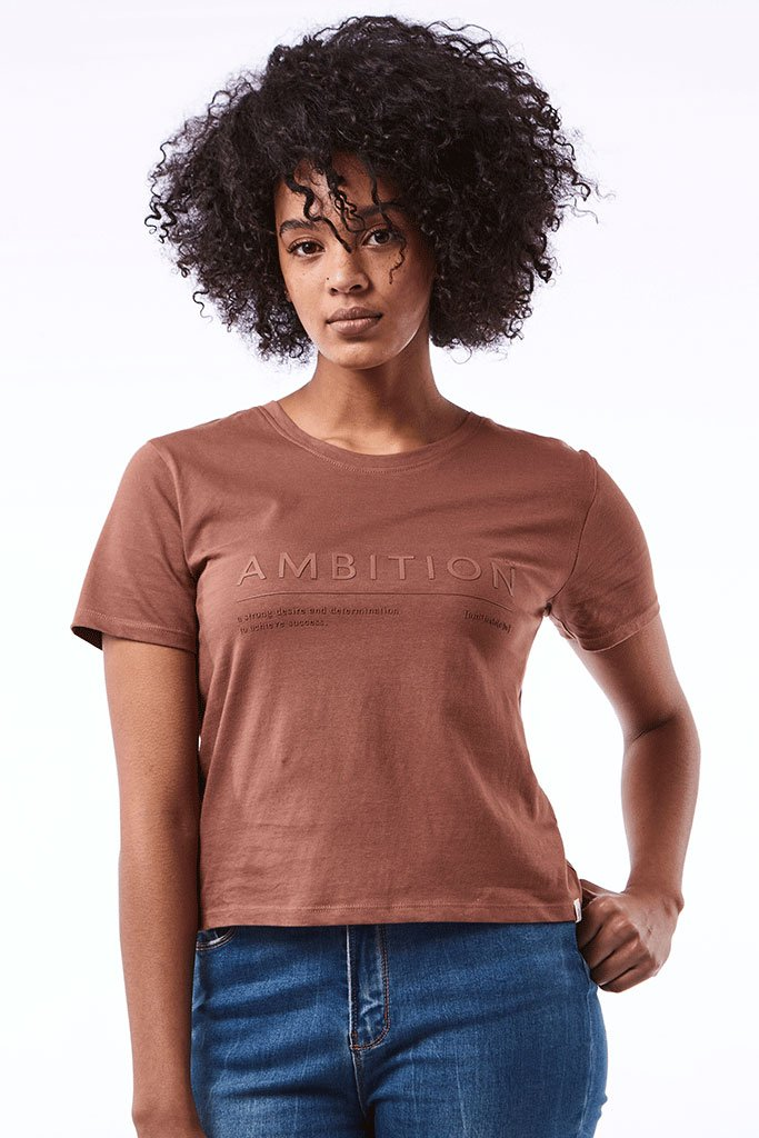 Slim-Fit Tee _ 121213 _ Rust