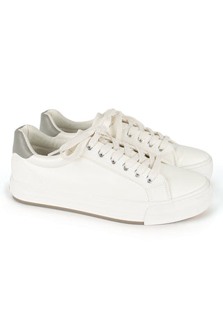 Lace-Up Sneaker _ 116841 _ White