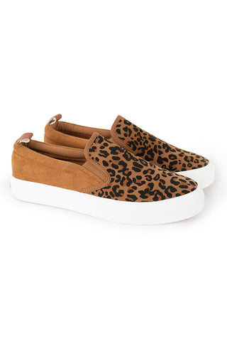 Animal Print Sneaker _ 115595 _ Natural