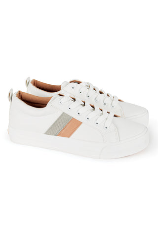 Lace-Up Sneaker _ 115593 _ White