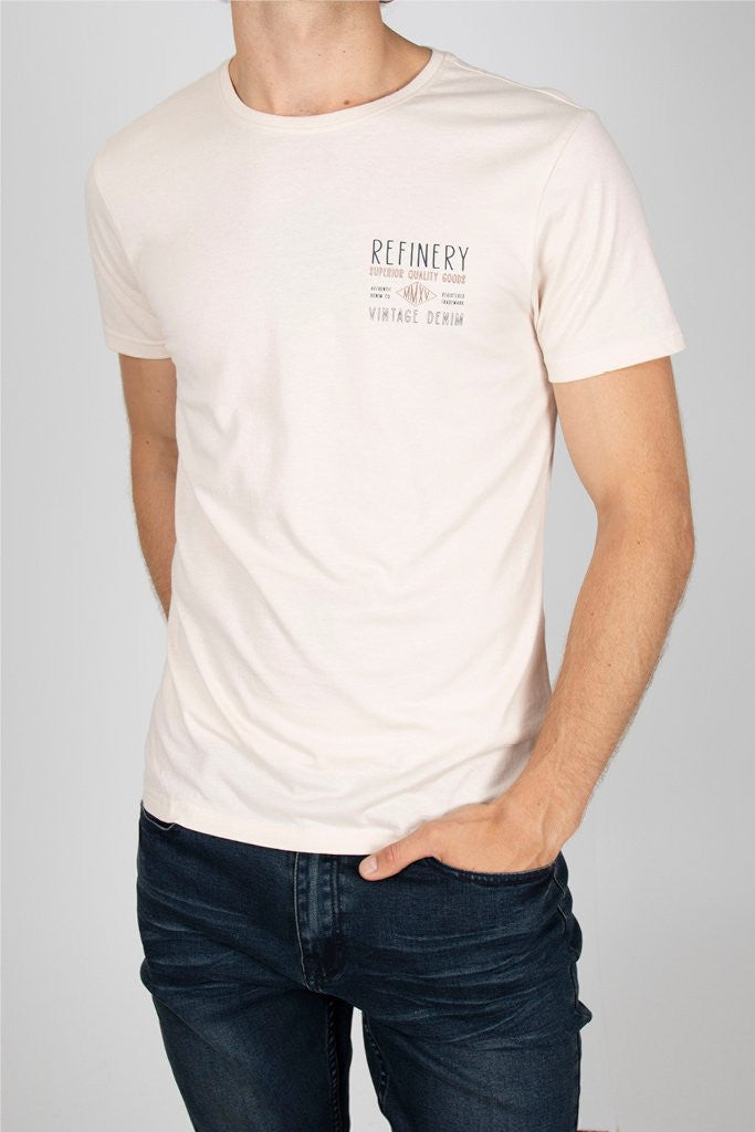 Branded Tee _ 111710 _ Grey -  Mens Tops - Refinery Clothing Store | South Africa