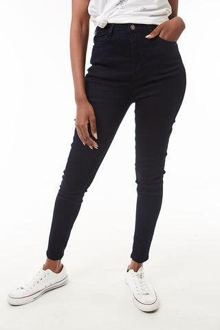 Rf09 Hi Waisted Super Skinny _ 120014 _ Black