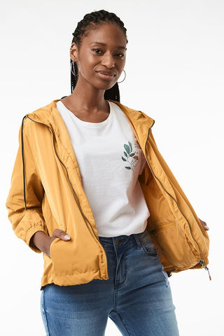 Packable Cagoule Jacket _ 118867 _ Yellow