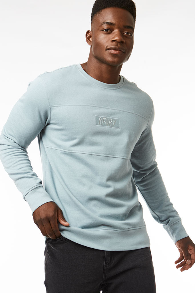 Sweat Top _ 118577 _ Pale Blue