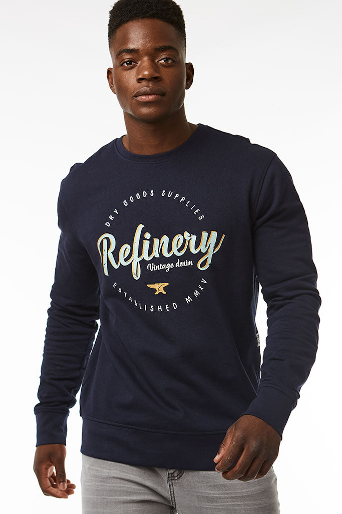 Crew Neck Sweat _ 118967 _ Ink