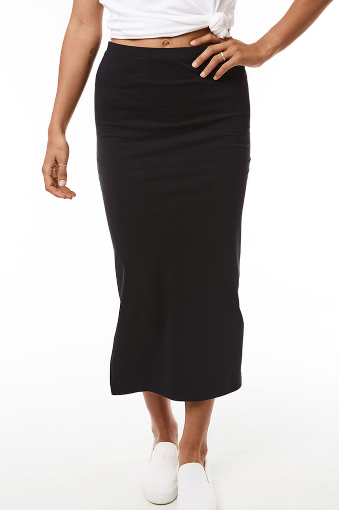 Bodycon Skirt _ 118554 _ Black