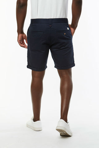 Slim Fit Chino Shorts _ 114536 _ Ink