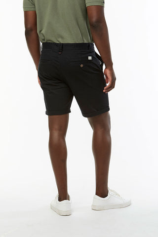 Slim Fit Chino Shorts _ 114536 _ Black