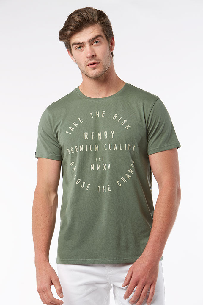 Branded Tee _ 118401 _ Green