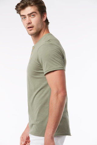 Henley Tee _ 115464 _ Fatigue