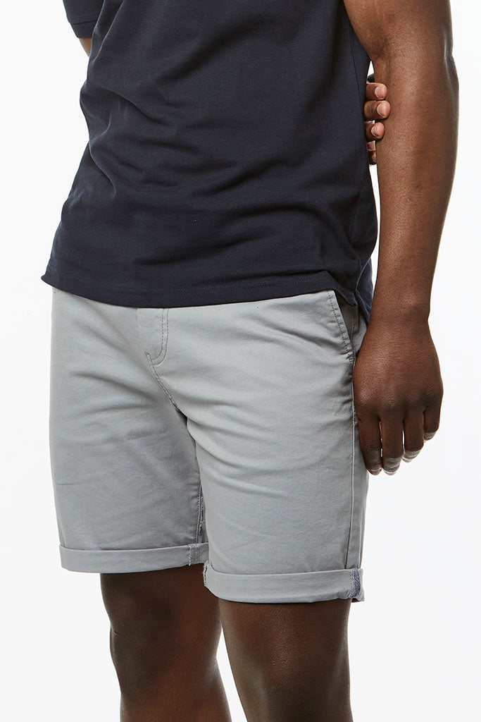 Slim Fit Chino Shorts _ 114536 _ Pale Blue