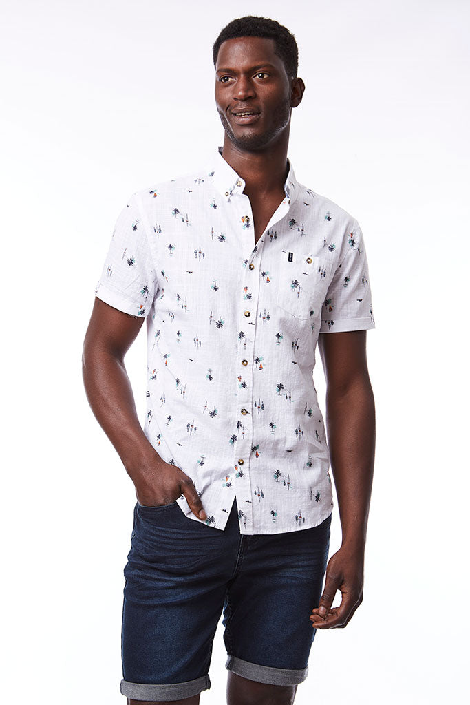 Printed Shirt _ 114673 _ White