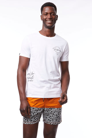 Branded Tee _ 115064 _ Optic White
