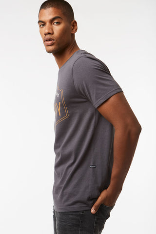 Branded Tee _ 119048 _ Charcoal